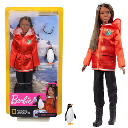 Barbie National Geographic Biolog móż polarnych GDM45
